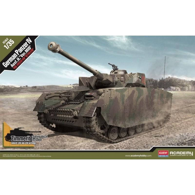 ACA-13516 Academy 13516 1/35 German PzKpfw IV Ausf H Mid