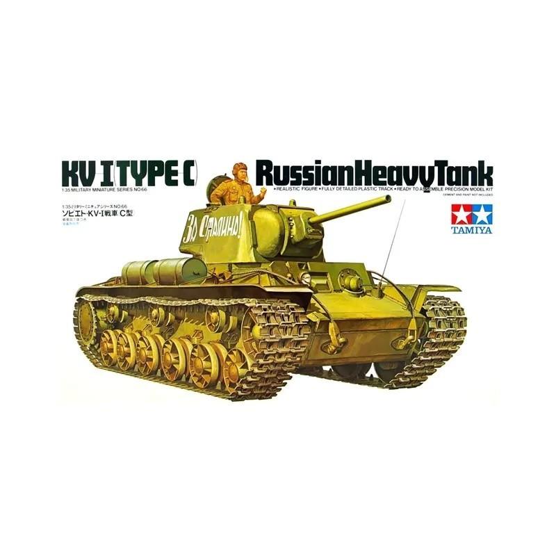 TAM-35066 Tamiya 35066 1/35 KV-1 Russian Tank