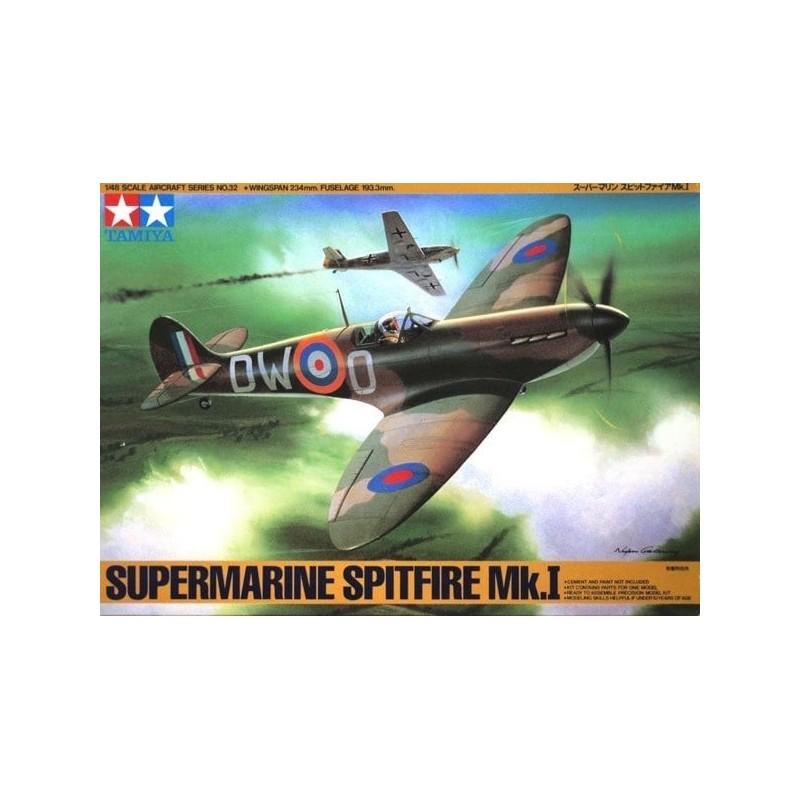 TAM-61032 Tamiya 61032 1/48 Supermarine Spitfire MK 1