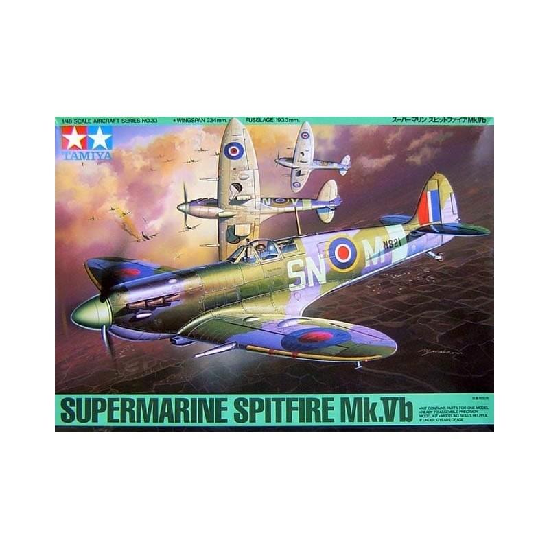 TAM-61033 Tamiya 61033 1/48 Supermarine Spitfire Mk.Vb