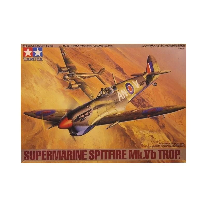 TAM-61035 tamiya 61035 1/35 Supermarine Spitfire Mk.Vb Trop