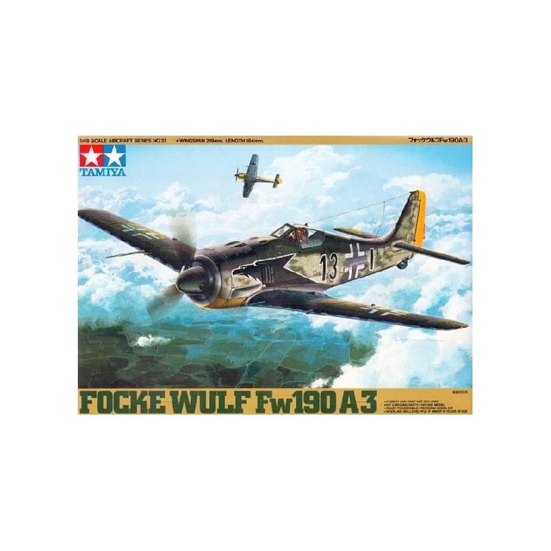 TAM-61037 Tamiya 61037 1/48 Focke-Wulf Fw190 A-3