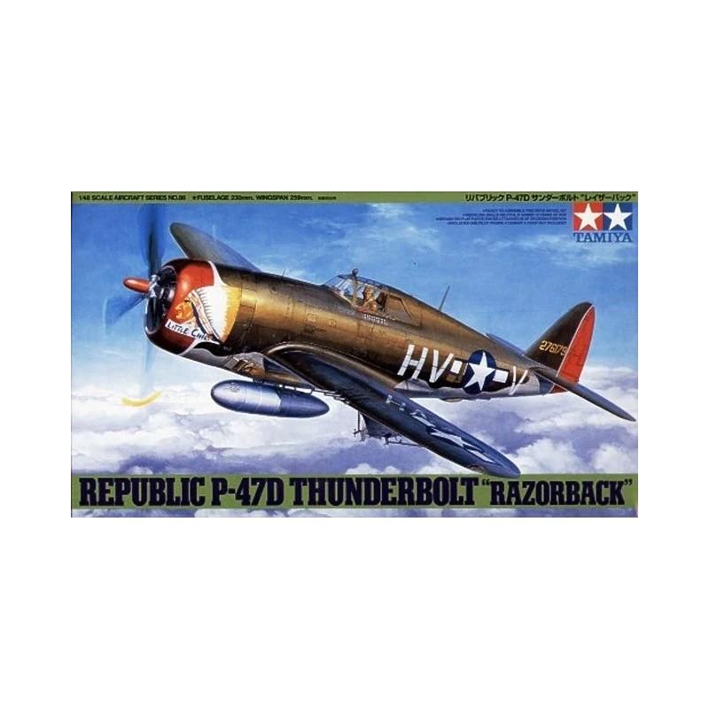 TAM-61086 Tamiya 61086 1/48 Republic P-47D Thunderbolt Razorback