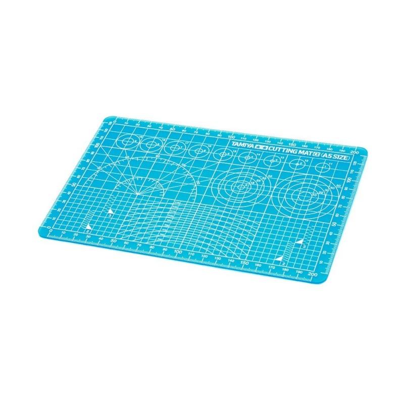 TAM-74142 Tamiya 74142 Cutting Mat a (A5 azul)