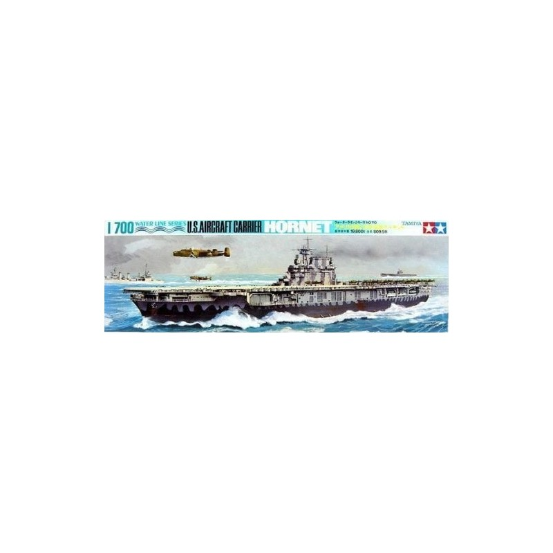 TAM-77510 Tamiya 77510 1/700 US Hornet Aircraft Carrier