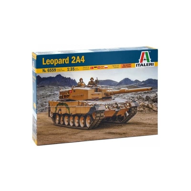 ITA-6559 Italeri 6559 1/35 Leopard 2A4. Calcas españolas