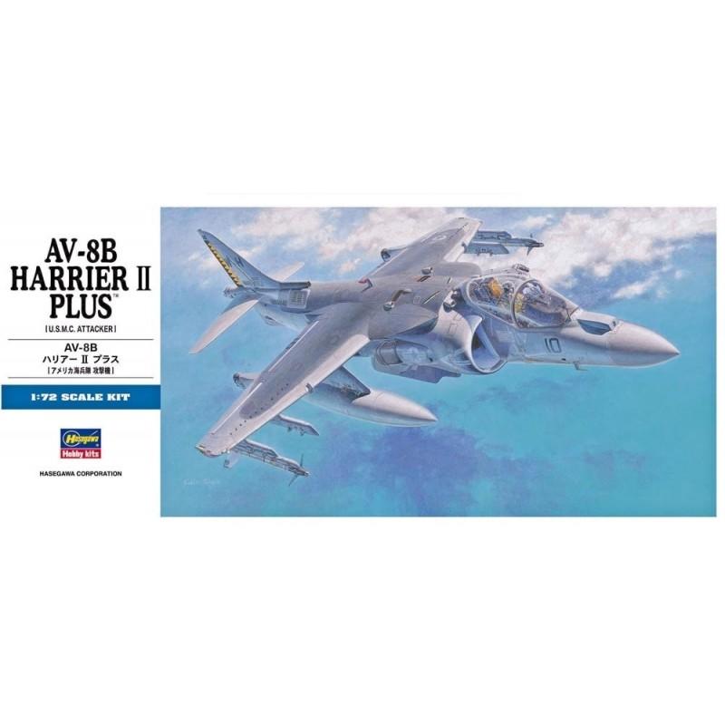 HA-00454 HASEWAGA 454 1/72.AV-8B HARRIER II PLUS
