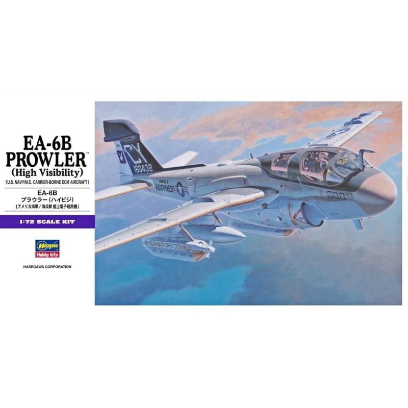HA-00538 HASEWAGA 538 1/72.EA-6B PROWLER (High Visibility)