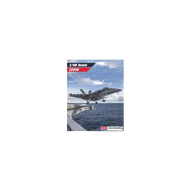 ACA-12316 ACADEMY 12316 1/48 USN F/A-18E VFA-195 CHIPPY HO