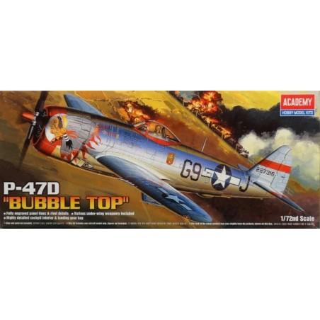 ACADEMY 12491 1/72 P-47D