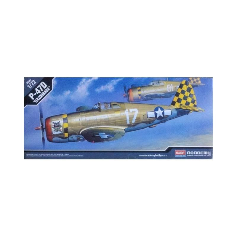 ACA-12492 ACADEMY 12492 1/72 P-47D THUNDERBOLT(RA)