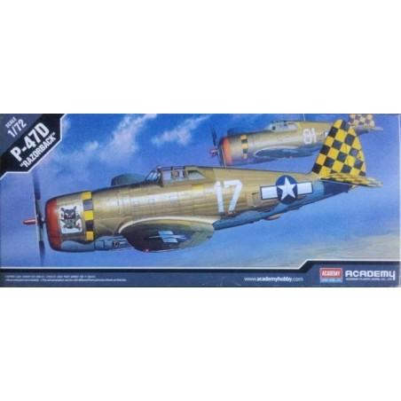 ACADEMY 12492 1/72 P-47D