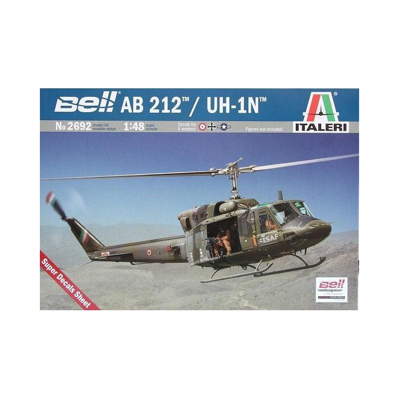 ITA-2692 Italeri 2692 1/48 Bell-Agusta AB 212 / UH 1N