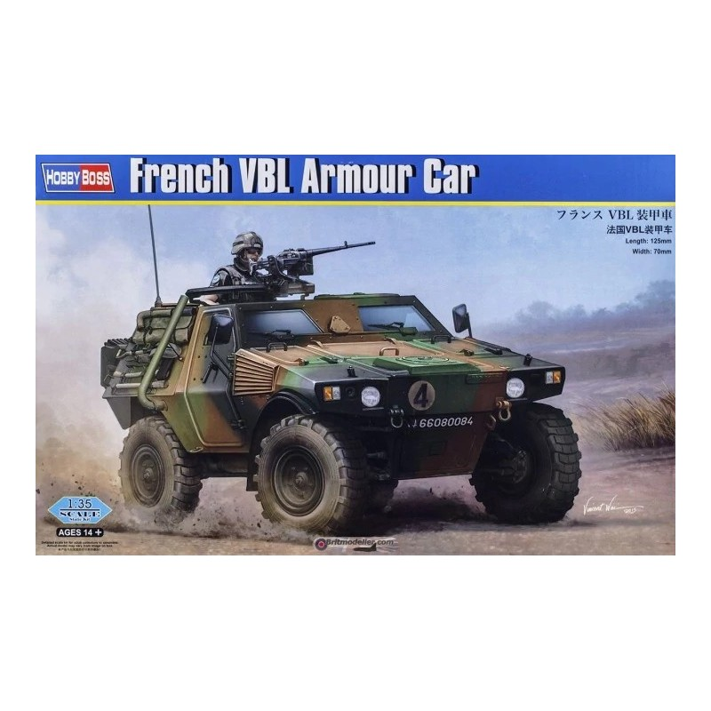 HB-83876 HOBBY BOSS 83876 1/35 French VBL Armour Car
