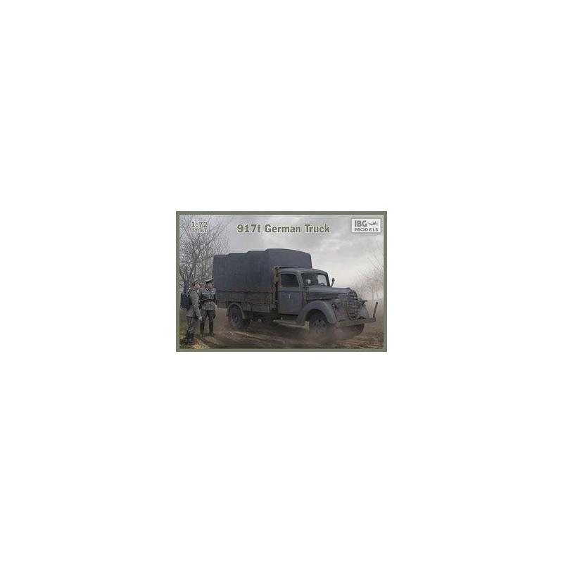IBG-72061 IBG 72061  1/72 917t German Truck -