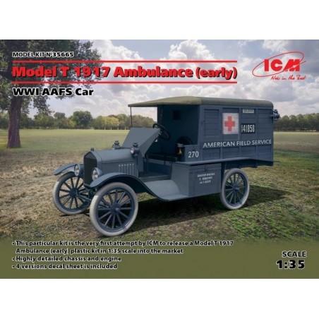 ICM  35665  1/35 MODEL T
