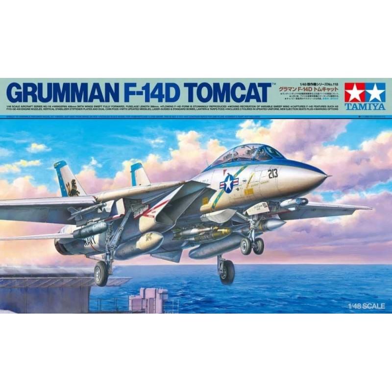 TAM-61118 Tamiya 61118 1/48 Grumman F-14d Tomcat