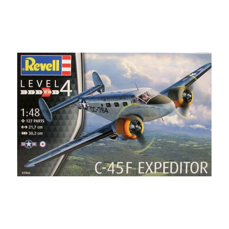 REV-03966 Revell 03966 1/48 C-45F Expeditor