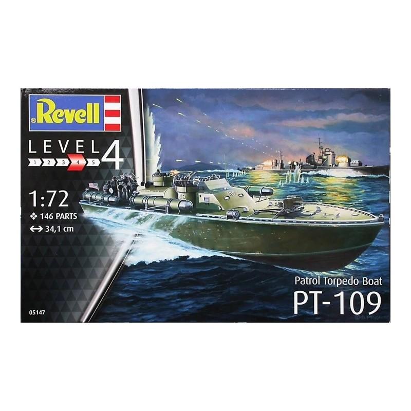 REV-05147  Revell 05147 1/72 Patrol Torpedo Boat PT-109