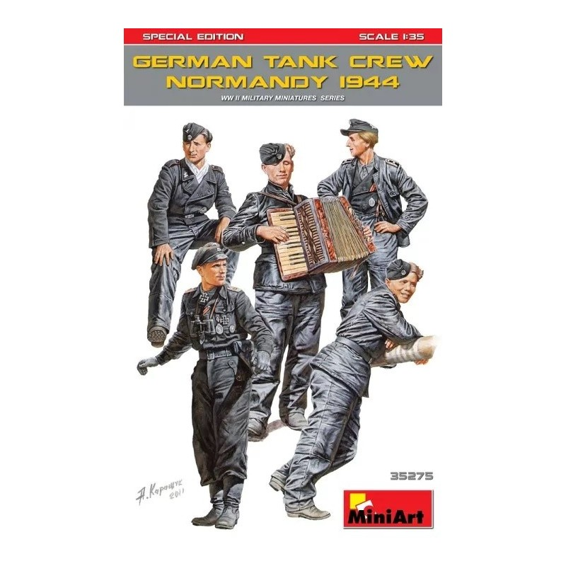 MA-35275 MINIART 35275 1/35 German Tank Crew ( Normandy 1944 ) Special Edition