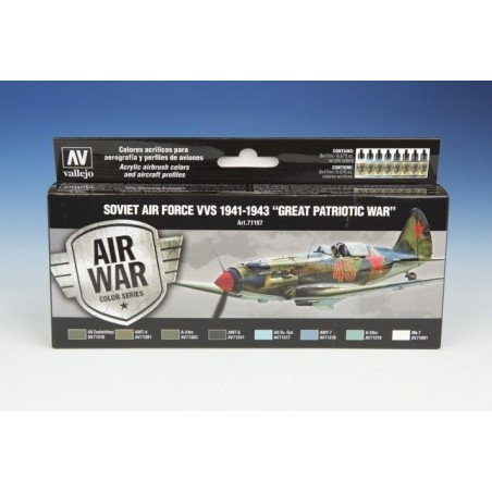 VALLEJO 71197 AIR WAR COL