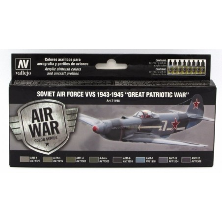 VALLEJO 71198 AIR WAR COL
