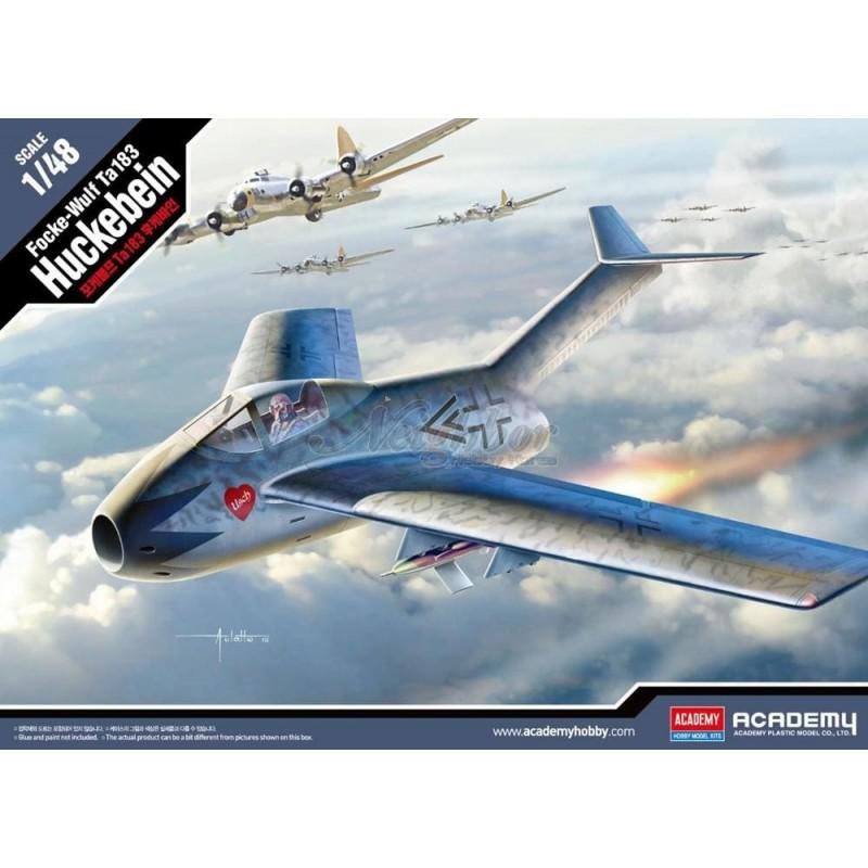 ACA-12327 Academy 12327 1/48 Focke-Wulf Ta183 Huckebein