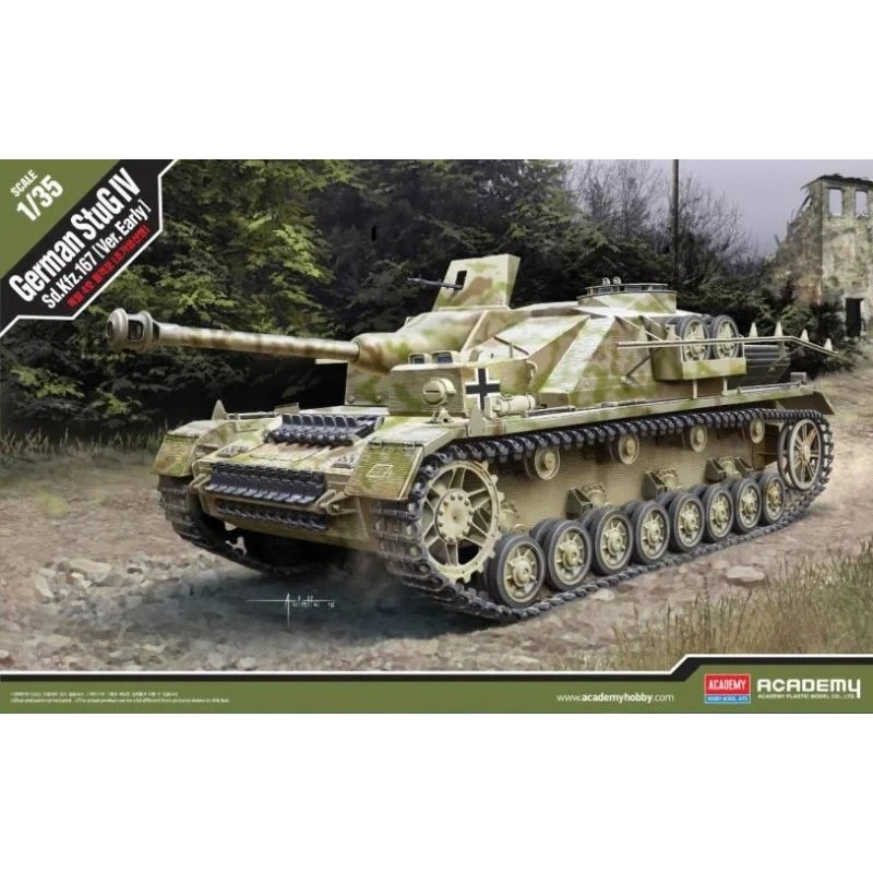 ACA-13522 Academy 13522 1/35 German StuG IV Sd.Kfz.167 (Ver. Early)