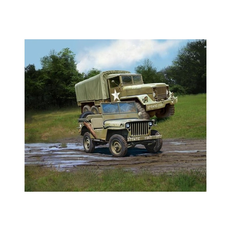 REV-03260 Revell 03260 1/35 M34 Tactical Truck + OFF-Road Vehicle