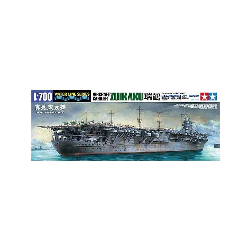 TAM-31223 Tamiya 31223 1/700 Zuikaku (Pearl Harbor 1941)