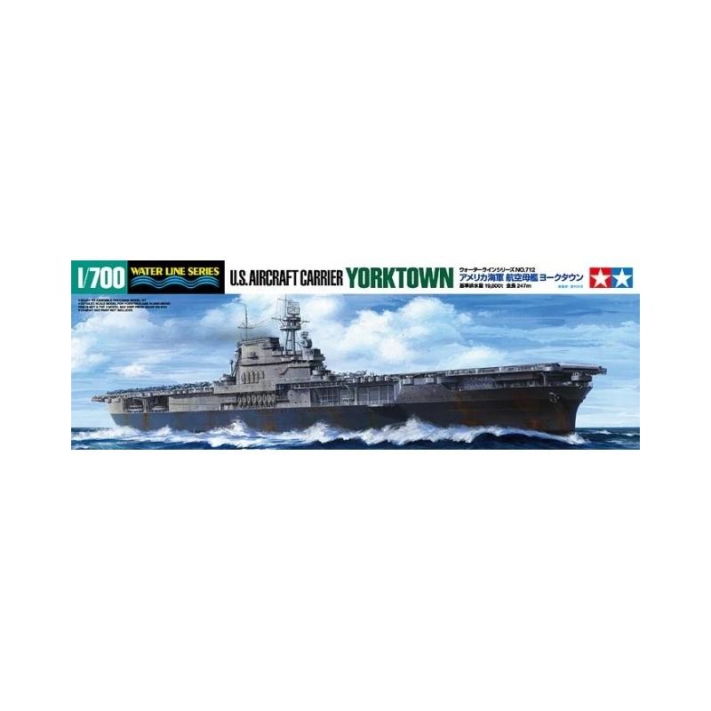 TAM-31712 Tamiya 31712 1/700 USS Yorktown (CV-5)
