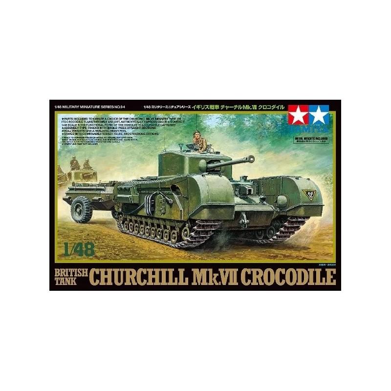 TAM-32594 Tamiya 32594 1/48 British Tank Churchill Mk.VII - Crocodile