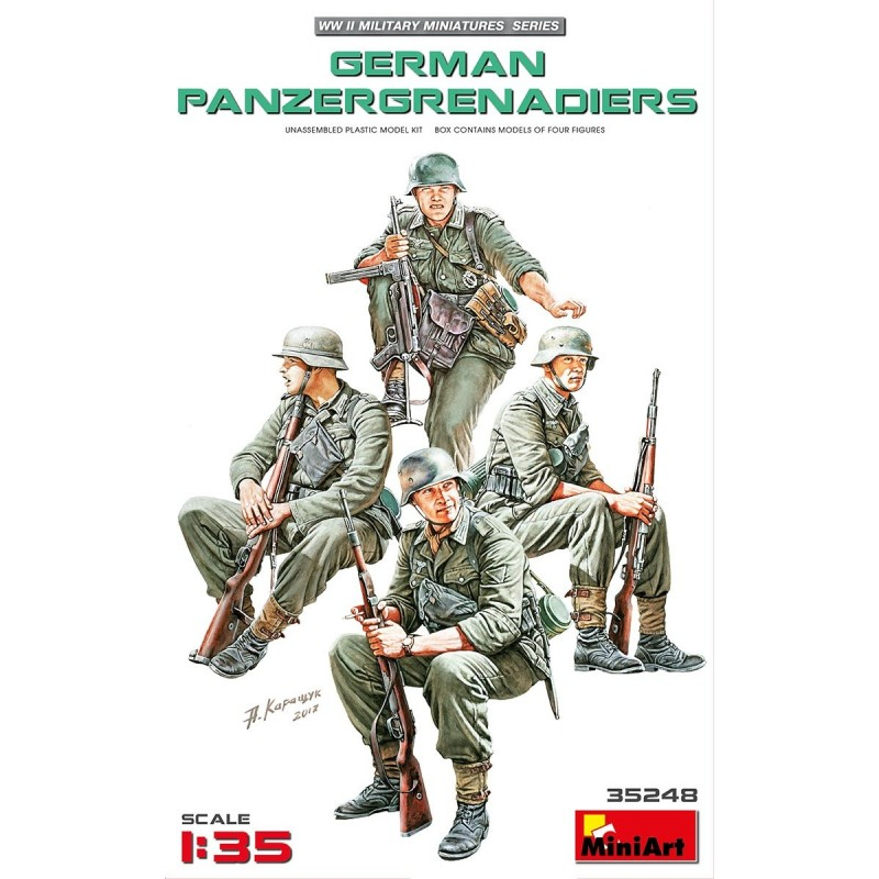 MA-35248 MINIART 35248  1/35  German Panzergrenadiers