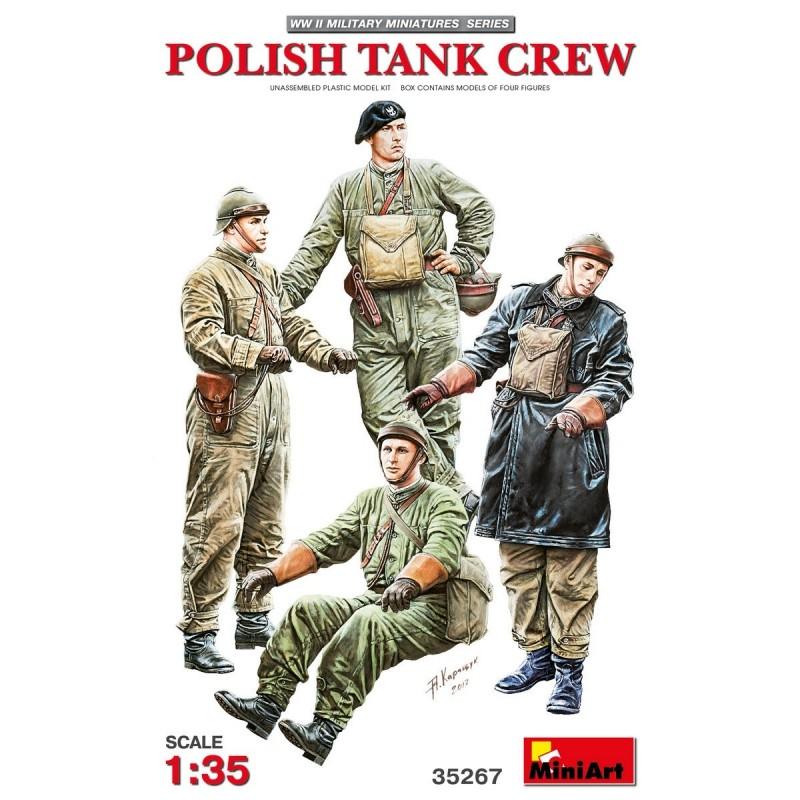 MA-35267 MINIART 35267  1/35  Polish Tank Crew