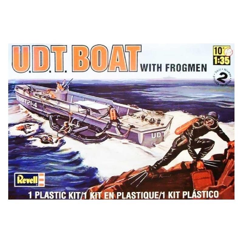REV-850313 Revell 850313 1/35 UDT Boat w/Frogmen
