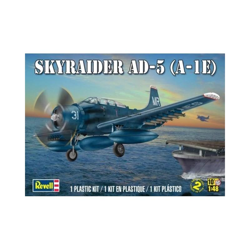 REV-855327 Revell 855327 1/48 Monogram Skyraider Ad-5 A-1e