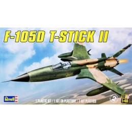 REV-85866  Revell 855866 1/48 Monogram F-105d Thunderchief