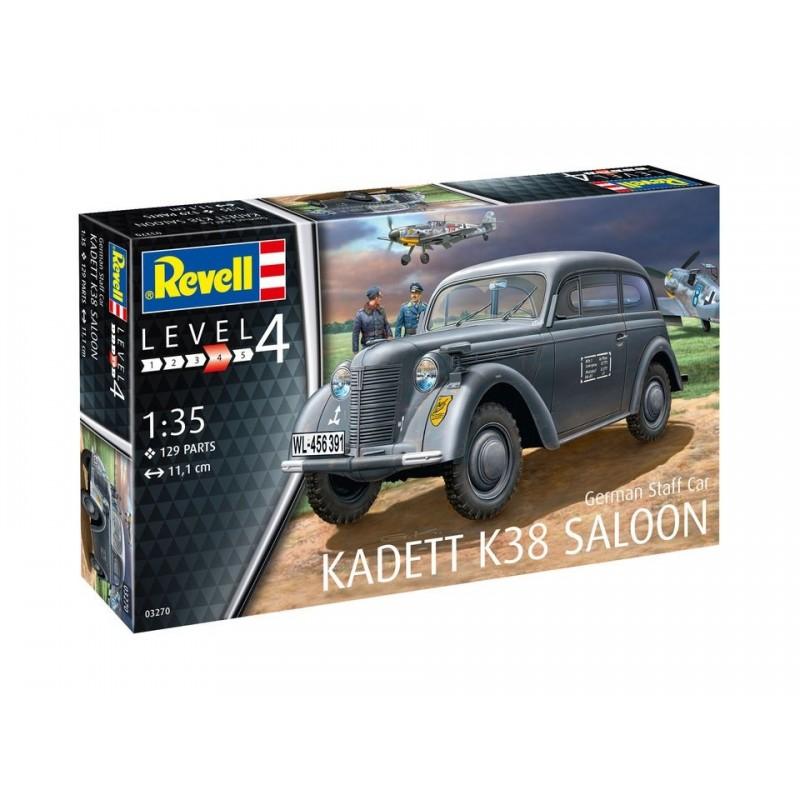 REV-03270 Revell 03270 1/35 German Staff Car KADETT K38 SALOON