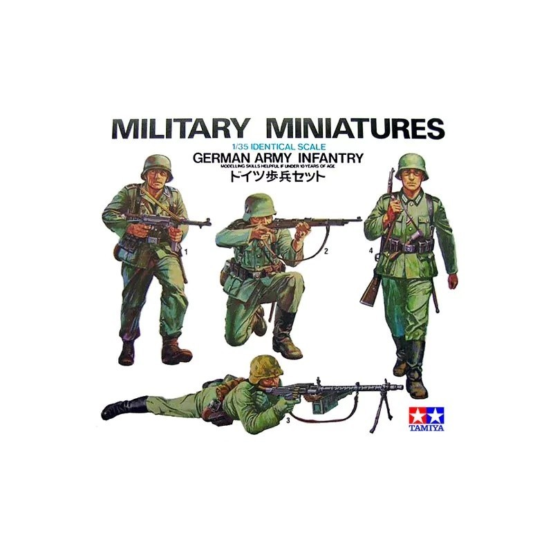 TAM-35002 tamiya 35002 1/35 German Army Infantry