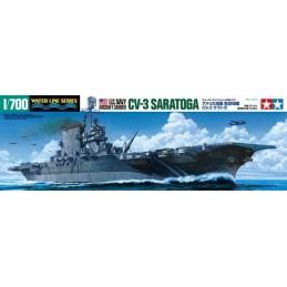 TAM-31713 Tamiya 31713 1/700 US Aircraft Carrier Saratoga - (CV-3)