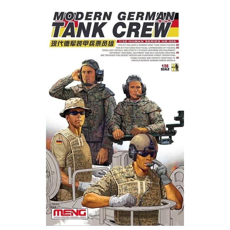 MENG-HS006 Meng HS006 1/35 Modern German Tank Crew