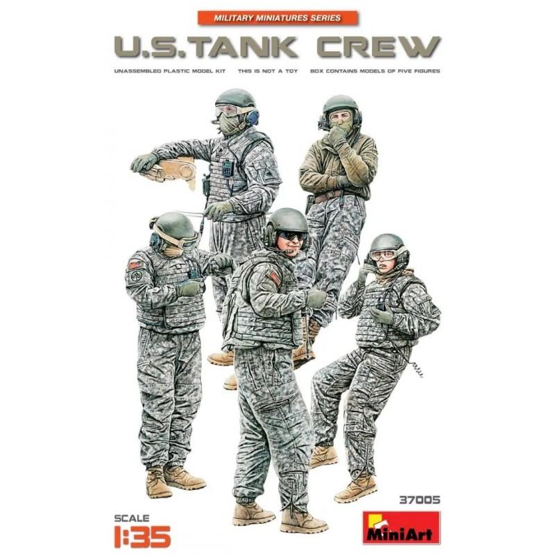 MA-37005 miniart 37005 1/35 U.S. Tank Crew
