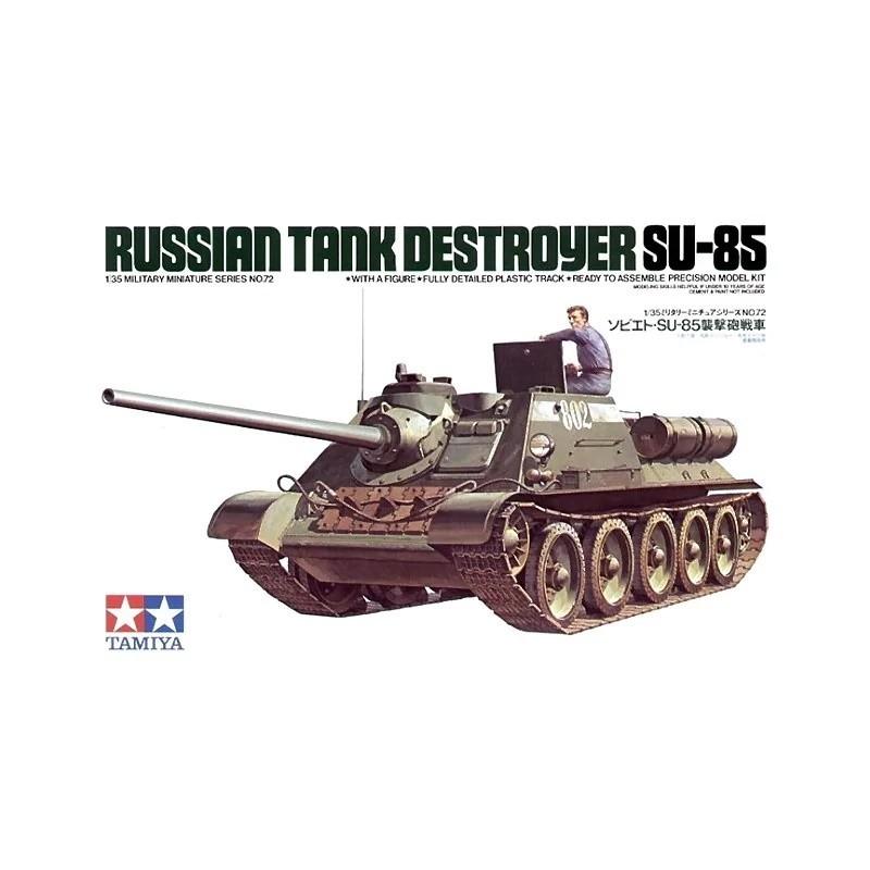TAM-35072 Tamiya 35072 1/35 Su-85 Russian Tank Destroyer