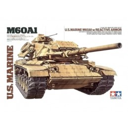 TAM-35157 Tamiya 35157 1/35 U.S. Marines M60A1 with Reactive Armor