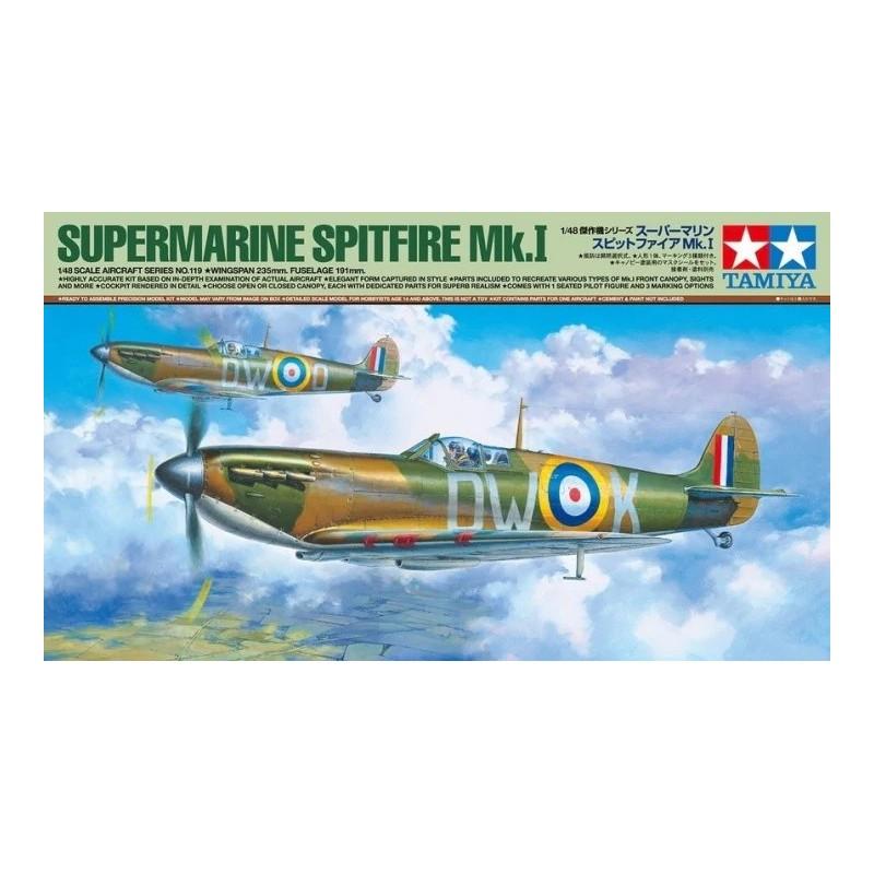 TAM-61119 Tamiya 61119 1/48 Supermarine Spitfire Mk.I