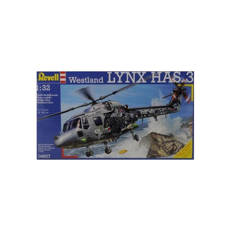 REV-04837 Revell 04837 1/32 Westland LYNX HAS.3