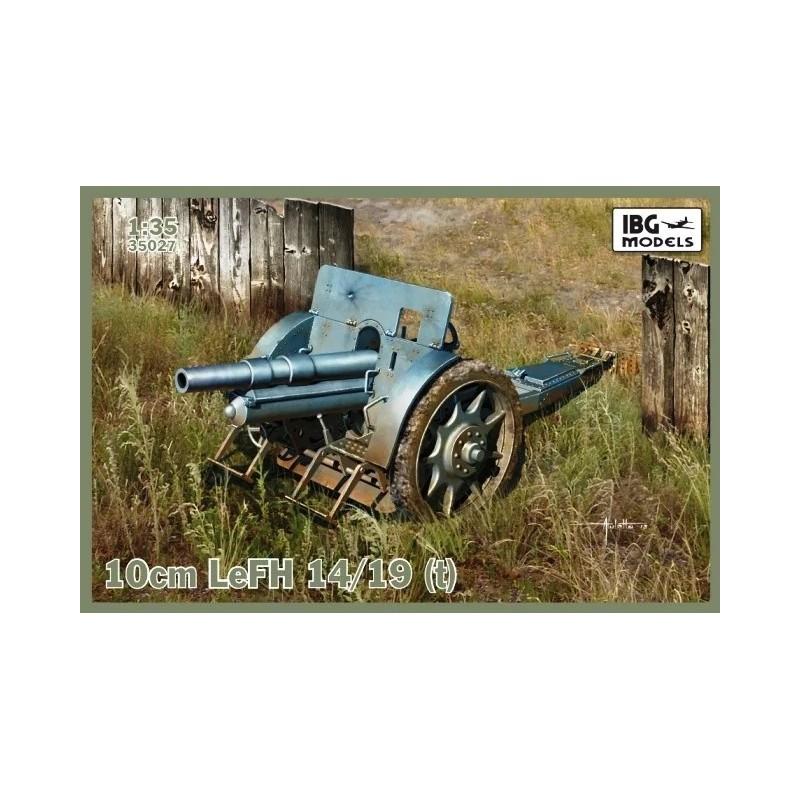 IBG-35027 IBG 35027 1/35 10cm LeFH 14/19 (t) -