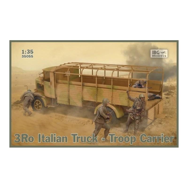 IBG-35055 IBG 35055 1/35 3Ro Italian Truck Troop Carrier