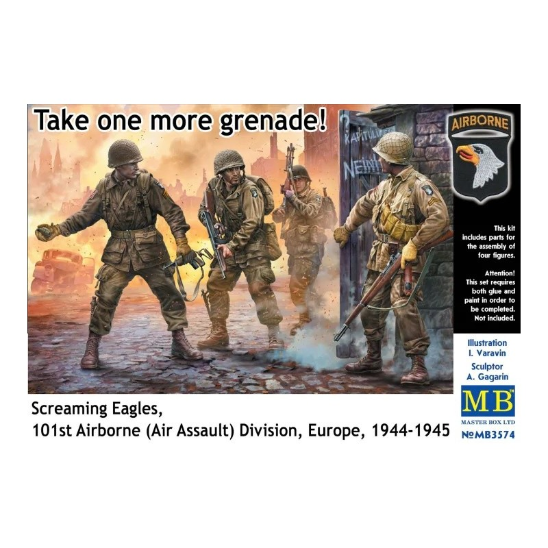 MB-3574 Master Box 3574 1/35 Take one more grenade! Screaming Eagles, 101st Airborne (Air Assault) Division, Europe, 1944-1945