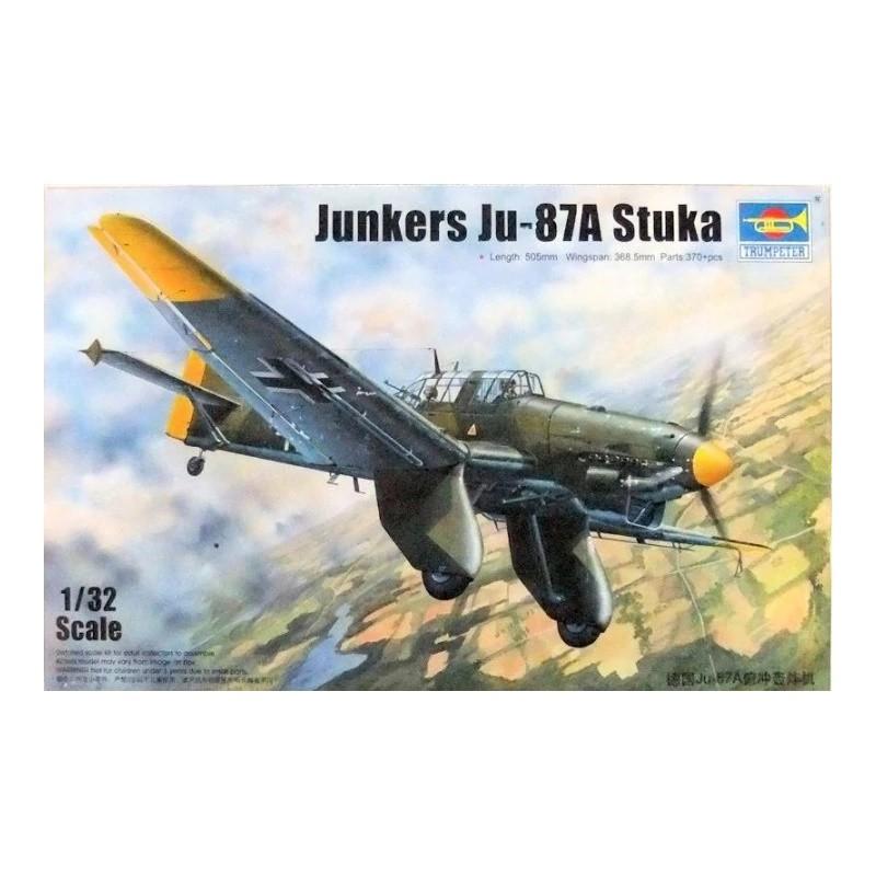TRU-03213 trumpeter 03213 1/32 Junkers Ju-87A Stuka